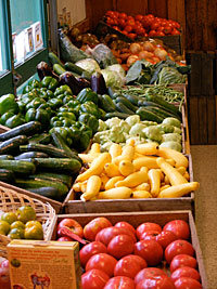 Locally grown, farm fresh fruits and vegetables at Weber's Cider Mill Farm in Parkville, MD, NE Baltimore.